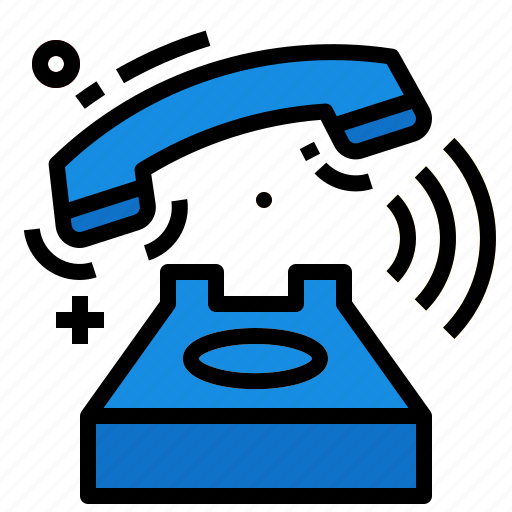 call, chat, contact, phone, ringing icon