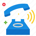 phone, ringing icon
