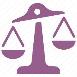 balance, choice, decision, law, scale icon