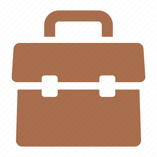briefcase, business services, portfolio, suitcase icon