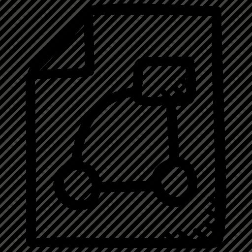 blueprint, document, draft, plan, scheme icon