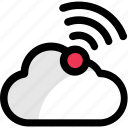 cloud connection, cloud network, wifi access, wifi cloud, wifi network icon