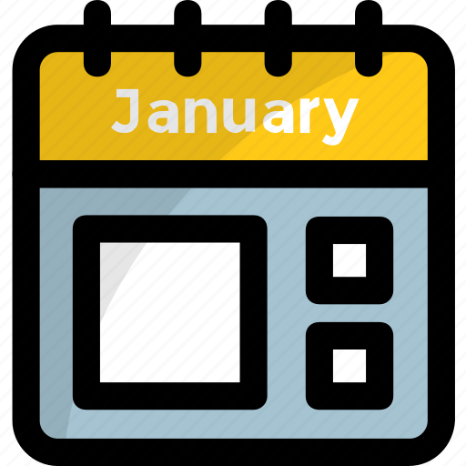 appointment, calendar, event, january, timetable icon