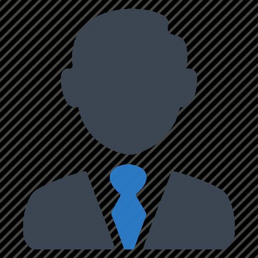 avatar, business, businessman, man, person, user icon
