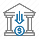 bank, business, finance, money icon