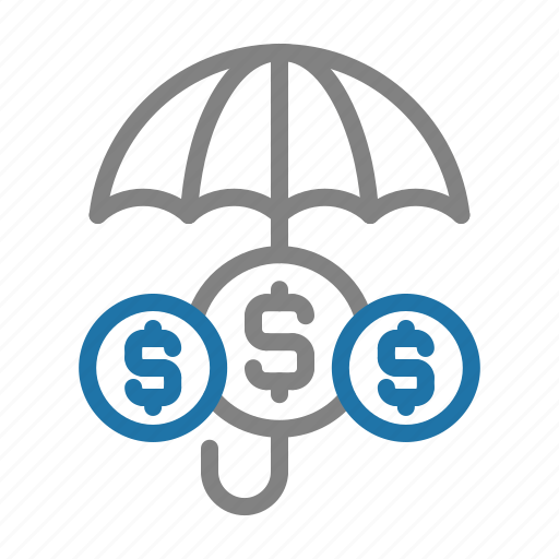 business, finance, insurance, money, protection icon