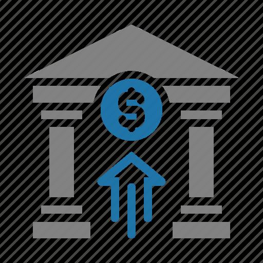 bank, business, finance, money icon