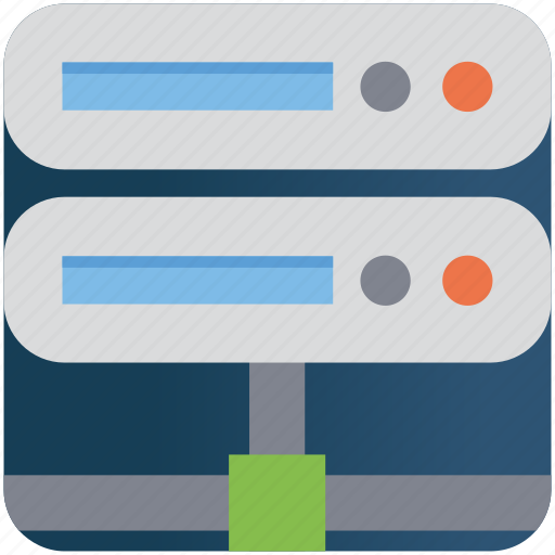 business, connection, database, hacker, server icon