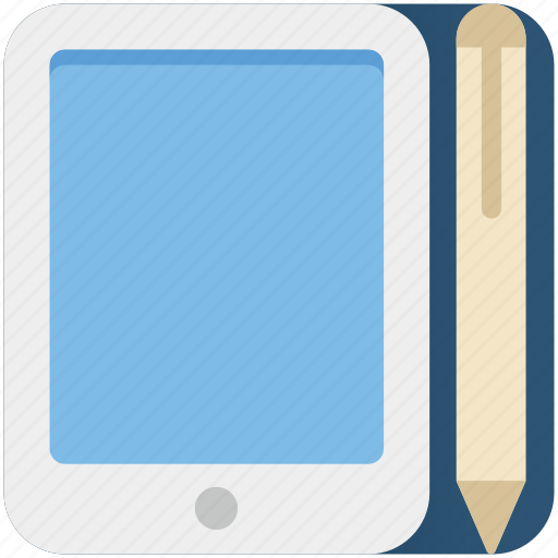 business, mobile, mobile composing, pencil, smart phone icon