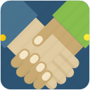 agreement, business, deal, hand, partnership, shake icon