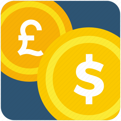 coin, currency, dollar, fund, money, pound icon