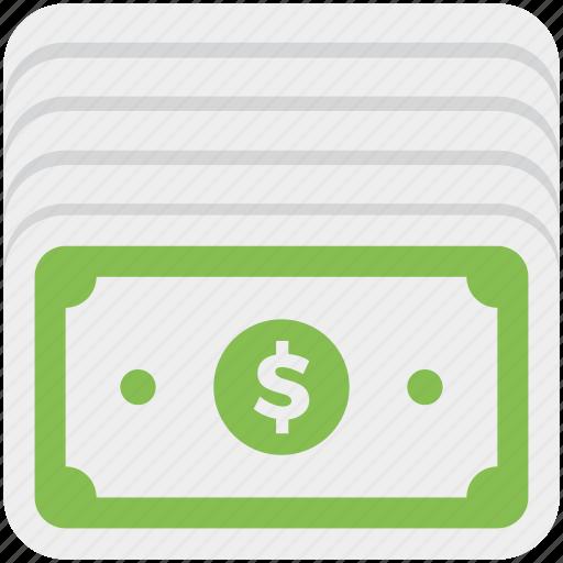 banknote, cash, dollar, money icon