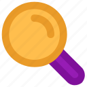 find, magnifier, magnify glass, searching, zoom icon