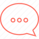 bubble, chat, communication, message, talk, testimonial icon