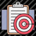 business, clipboard, document, focus, target