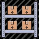 boxes, carton, parcel, parcels, warehouse