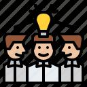 brainstorming, idea, teamwork, business