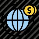 corporation, worldwide, money, international