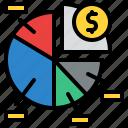 pie, chart, market, share, business