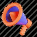megaphone, promotion, announcement, advertisement, advertising