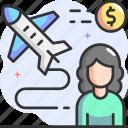 business travel, travel, business trip, trip, airplane