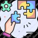 solution, idea, puzzle, creativity, strategy