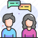 chat, conversation, feedback, opinion, user