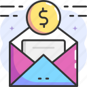 email, message, donate, invoice, receipt