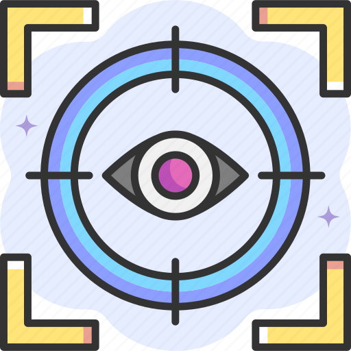 Focus, vision, eye, view, target icon - Download on Iconfinder