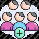 add, add friend, add user, social media