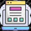 interface, template, design, mockup