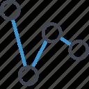 analytics, analyze, business, data, graph icon
