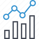 analytics, anlyze, business, gear, graph, report icon