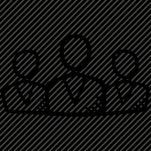 community, group, organization, people, team icon