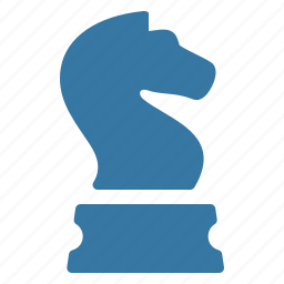 chess knight, strategic planning, strategy icon