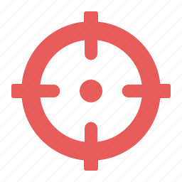 aspirations, business goal, target, targeting icon