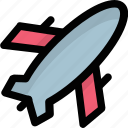 aircraft, airplane, aviation, flight, plane jet icon