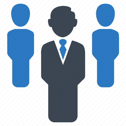 business, businessman, group, leader, marketing, people, team icon