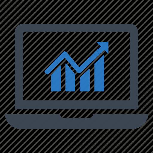 analytics, business, business growth, finance, graph, marketing, profit icon