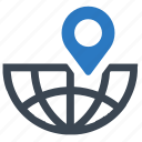 business, communication, global, global business, location, map pin, navigation icon