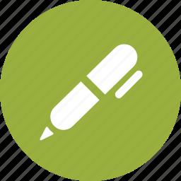 ballpoint, compose, edit, pen, signature, write icon