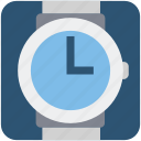 smart watch, time hand, watch icon