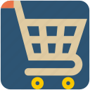 basket, cart, commerce, shopping, shopping cart icon
