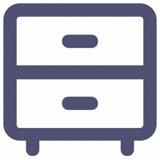 Cabinet, drawer, furniture, interior, office icon - Download on Iconfinder