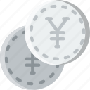 business, finance, marketing, yen icon