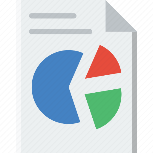 analytics, business, file, finance, marketing icon