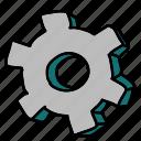bolt, business, settings, technology
