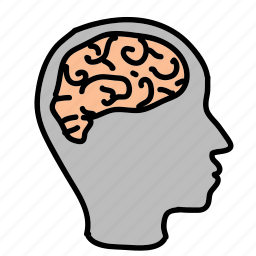 brain, business, head, idea, thoughts icon