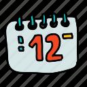business, notes, number, deadline, calender, date