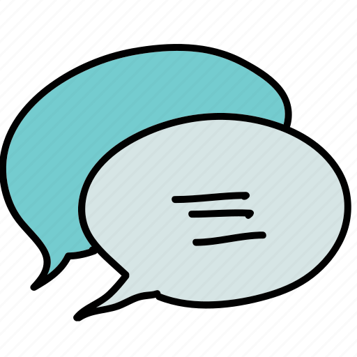 bubbel, business, chat, chatting, communicate, text icon